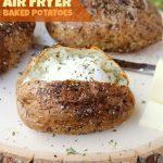 Easy Air Fryer Baked Potatoes | Recipe | Air fryer recipes easy, Air fryer baked  potato, Air fryer recipes healthy