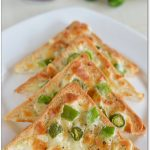 Chilli Cheese Toast Recipe - Cheese Chilli Toast - Sharmis Passions