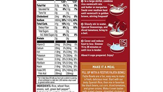 Amazon.com : Rice-A-Roni, Rice Mix Spanish, 6.8 oz : Grocery & Gourmet Food