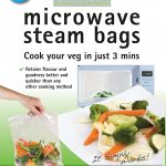 Amazon.com: 25-Pack Large Quickasteam Microwave Steam Cooking Bags for  Faster, Healthier Vegetables: Steamers: Kitchen & Dining