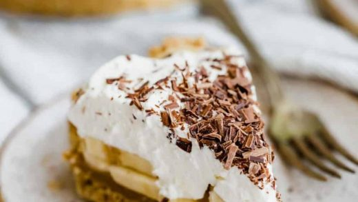 Banoffee pie recipe. The Best Recipe for English Banoffee Pie
