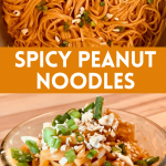 Spicy Peanut Noodles - DIRTY BLONDE VEGAN