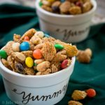 Caramel Crispix Snack Mix - Sweet & Salty Recipe | Hostess At Heart