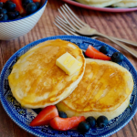 Fluffy American Pancakes | What Jessica Baked Next...