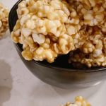 Caramel Popcorn Balls – Little Cup of Carly