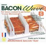 NEW #60110 MICROWAVE OVEN COMPACT BACON RACK COOKER