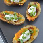 Healthier Baked Potato Skins Recipe   Produce for Kids