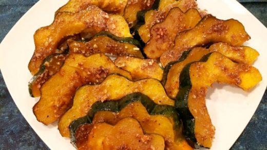 Baked Praline Acorn Squash / The Grateful Girl Cooks!