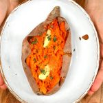 How To Make Baked Sweet Potatoes (In The Oven + Microwave)