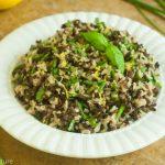 Black, Brown and Wild Rice Pilaf Recipe - Savory Nature