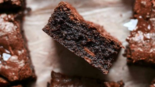 Homemade Brownie Recipe from Scratch | Also The Crumbs Please