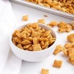 Caramel Chex Mix Recipe   The Bearfoot Baker