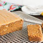 Caramel & Coffee Banana Bread - Eggless, Whole Wheat »