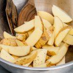 Combi Microwave Potato Wedges - Maison Cupcake