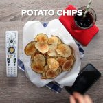 Easy Microwave Potato Chips Recipe by Tasty