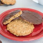 Homemade Chocolate Hobnobs - Kate's Sweets