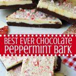 Chocolate Peppermint Bark – Modern Honey