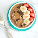 Chocolate Quick Oats with Almond Butter - Always Nourished