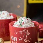 Easy Festive Christmas Cake Mix Mug Cake - Lifestyle of a Foodie