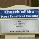 A church endorsement? | Yellow GritsYellow Grits