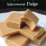 Easy Creamy Peanut Butter Fudge made in the microwave!