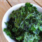 Crispy Kale Chips Recipe - A Delicious, Healthy Snack -