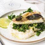 Monkfish with Lime and Sage - La Cuisine de Géraldine