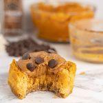 Microwave Pumpkin Protein Cheesecake   MacroChef MacroChef