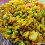 Vegetable Poha | Simply Tadka