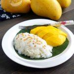 A taste of memories -- Echo's Kitchen: 【泰式芒果糯米饭】Thai Mango Sticky Rice  (Khao Niaow Ma Muang)