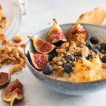 Oatmeal with Figs, Apples and Cinnamon - La Cuisine de Géraldine