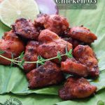 A taste of memories -- Echo's Kitchen: Oven Baked Chicken 65
