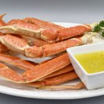 Snow Crab Legs With Garlic Butter · Major Gates