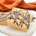 Keto Halloween Rice Krispie Treats | Trina Krug