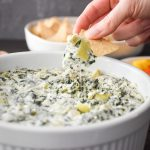 Quick Spinach and Artichoke Dip {Instant Pot | Microwave} | The Foodie and  The Fix