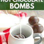 Homemade Dairy Free Hot Chocolate Bombs (Vegan Option!)