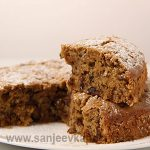 How to make Date and Walnut Cake - No Egg, recipe by MasterChef Sanjeev  Kapoor