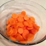 Easy Cooked Carrots in the Microwave | Domestically Creative