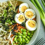 Easy Homemade Ramen with Eggs in the Microwave | Dinner Eggs