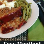 Easy Meatloaf #Recipe with Oatmeal for a Great Family Meal! - Mom Does  Reviews