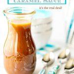 Easy Microwave Caramel Sauce   The Café Sucre Farine