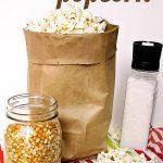 Easy Homemade Microwave Popcorn - Feel Great in 8 Blog