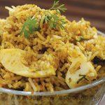 How to make Egg Biryani, recipe by MasterChef Sanjeev Kapoor