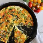 Egg White Frittata - Cheerful Choices Food and Nutrition Blog