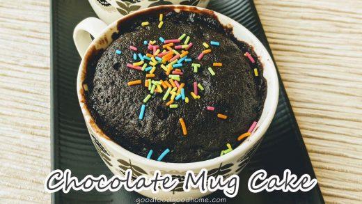 Eggless Microwave Mug Cakes – GoodFoodGoodHome