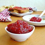Apple and Plum Jam Recipe   Homemade Apple & Plum Jam   How to make Apple & Plum  jam in microwave   Vegetarian Tastebuds