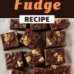 Fantasy Fudge Recipe - Insanely Good