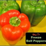 How To Freeze Bell Peppers / The Grateful Girl Cooks!