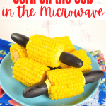 How to Cook Frozen Corn on the Cob in the Microwave   Just Microwave It