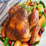 The Best Garlic Butter Thanksgiving Turkey (video) - Tatyanas Everyday Food